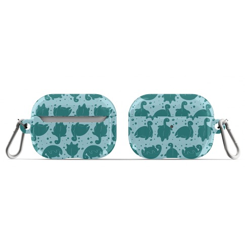 Cute Nessie Pattern AirPod Case