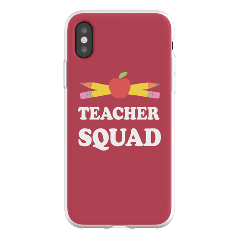 Teacher Squad Phone Flexi-Case