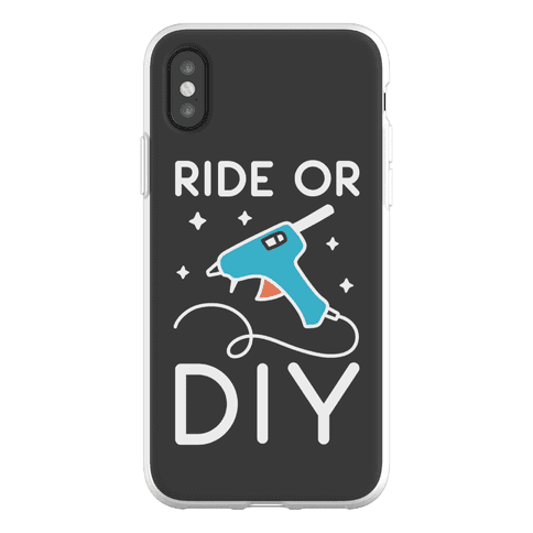 Ride Or DIY Pair 2/2 Phone Flexi-Case