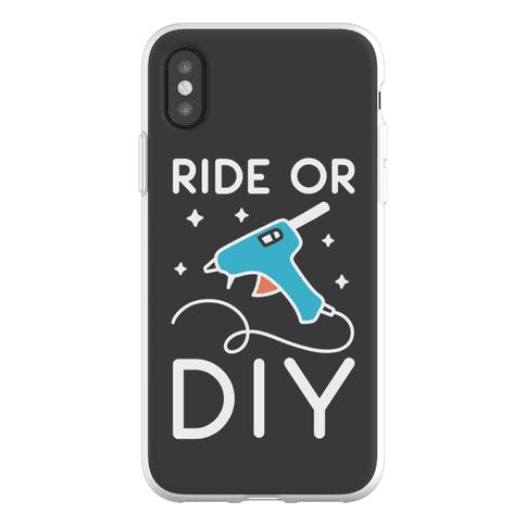 Ride Or DIY Pair 2/2 Phone Flexi-Case