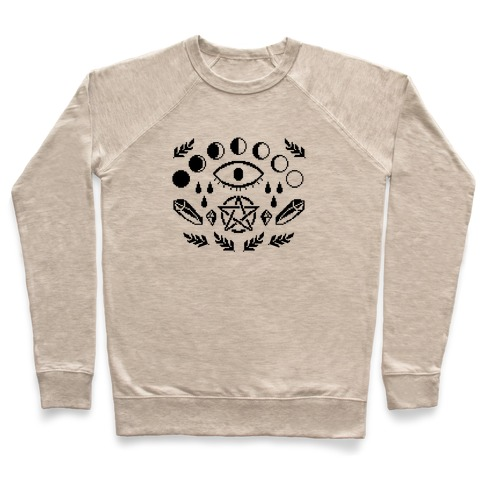 Occult Pixel Pattern Pullover
