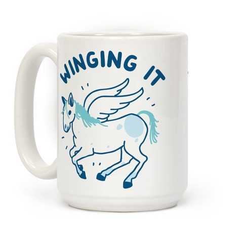 Winging It Coffee Mug