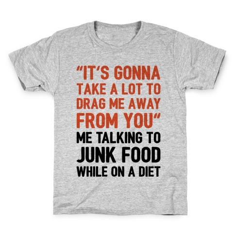 Toto Africa Junk Food Parody Kids T-Shirt