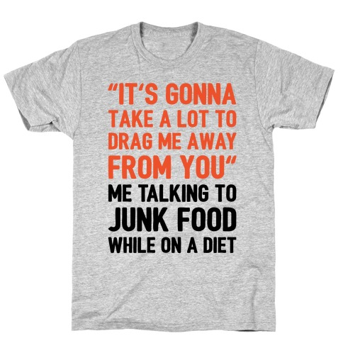 Toto Africa Junk Food Parody T-Shirt
