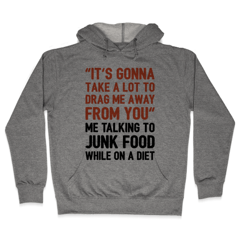 Toto Africa Junk Food Parody Hooded Sweatshirt