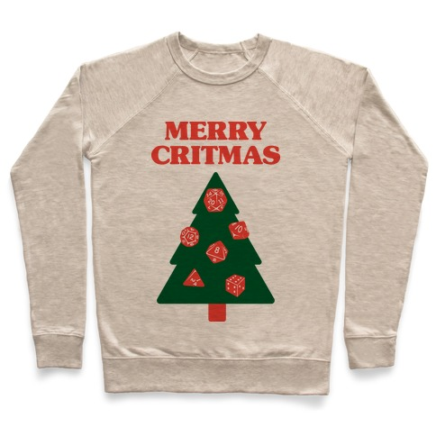 Merry Critmas Pullover