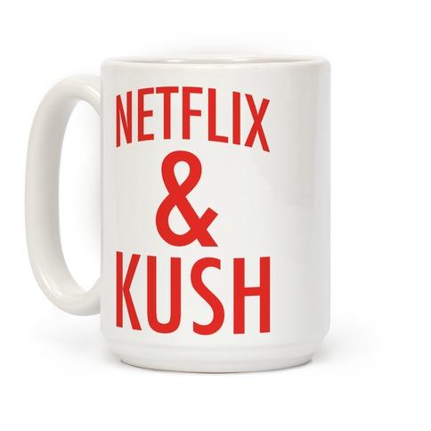 Netflix & Kush Coffee Mug