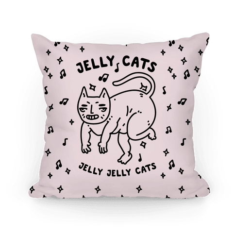 Jelly Cats Pillow