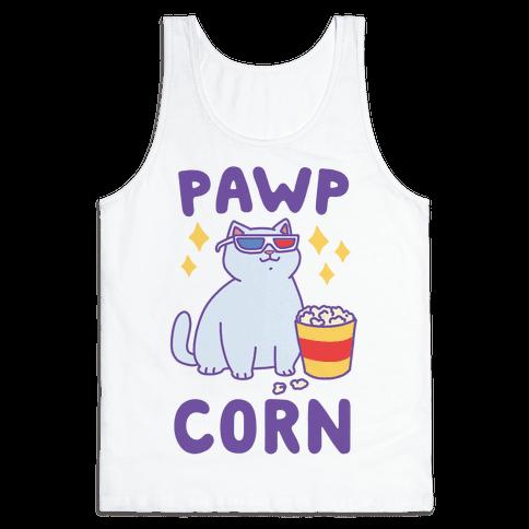 Pawpcorn Tank Top