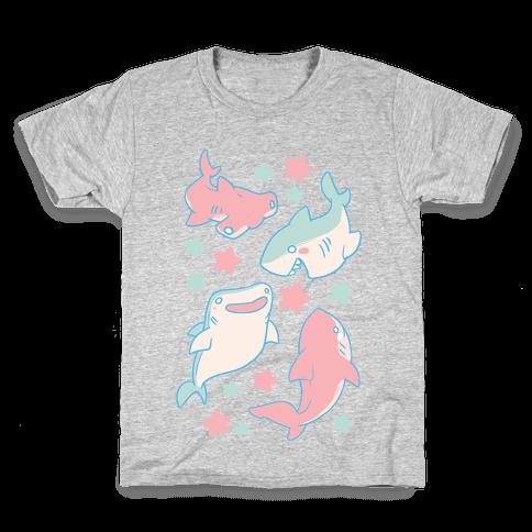 Happy Sharks Kids T-Shirt