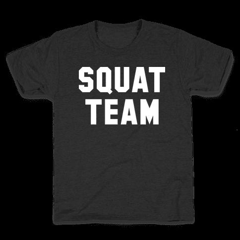 Squat Team Kids T-Shirt
