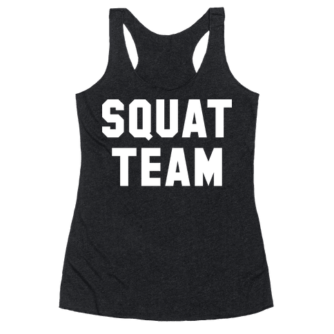 Squat Team Racerback Tank Top