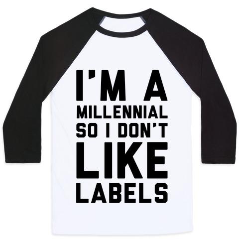 I'm A Millennial Baseball Tee