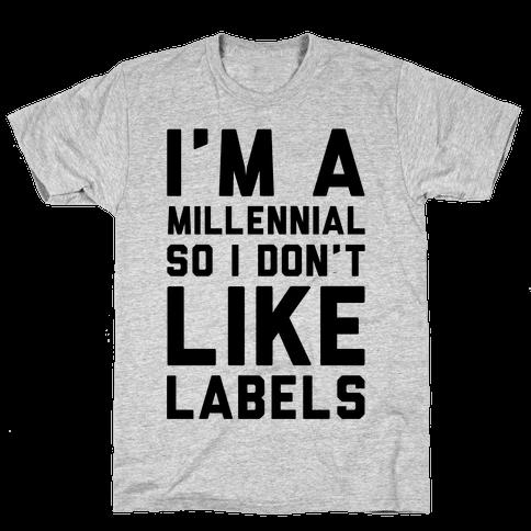 I'm A Millennial Mens T-Shirt