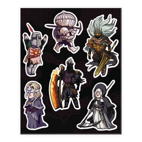 Cutie Souls  Sticker/Decal Sheet