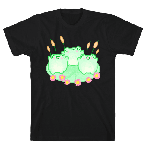 Hoppy Froggies Mens/Unisex T-Shirt