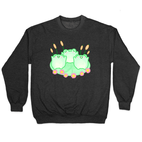Hoppy Froggies Pullover