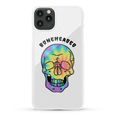 Boneheaded Trippy Skull Phone Case