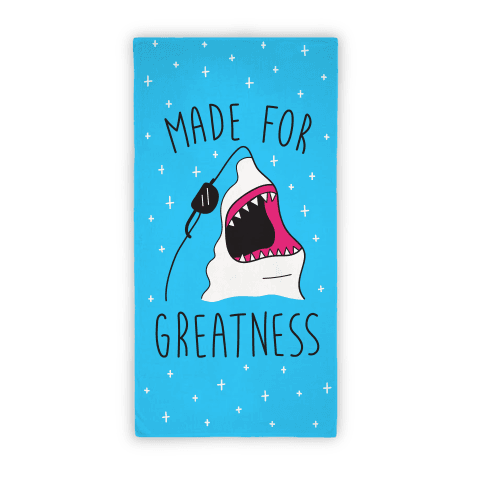 Made For Greatness (Towel) Beach Towel