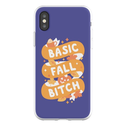 Basic Fall Bitch Phone Flexi-Case