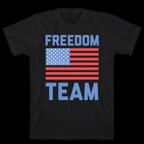 Freedom Team Mens T-Shirt