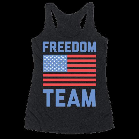 Freedom Team Racerback Tank Top