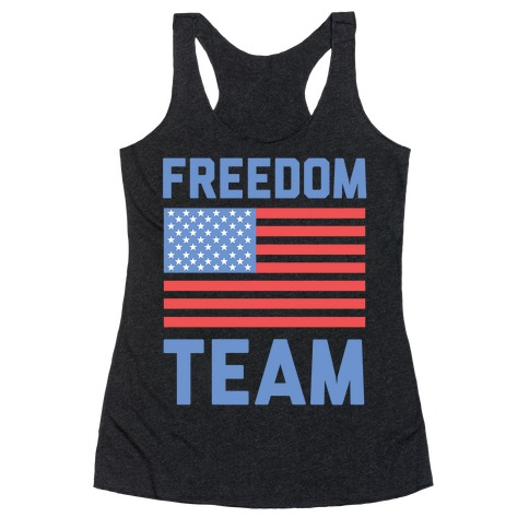 Freedom Team Racerback Tank Top