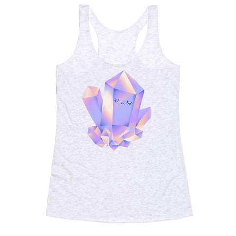 Happy Healing Crystal Racerback Tank Top
