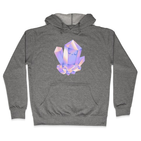 Happy Healing Crystal Hooded Sweatshirt