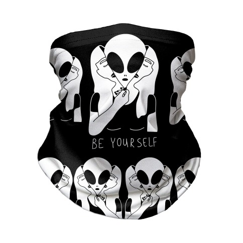Be Yourself Alien Neck Gaiter