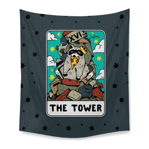 The Garbage Tower Tarot Tapestry