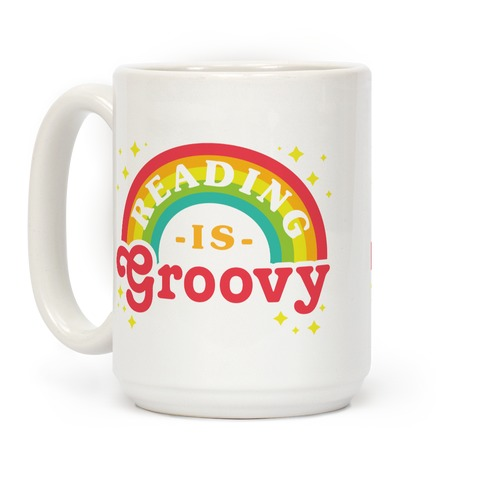 Reading is Groovy Coffee Mug