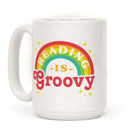 Reading is Groovy Coffee Mug