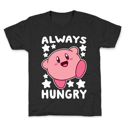 Always Hungry - Kirby Kids T-Shirt
