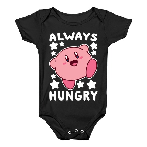 Always Hungry - Kirby Baby Onesy
