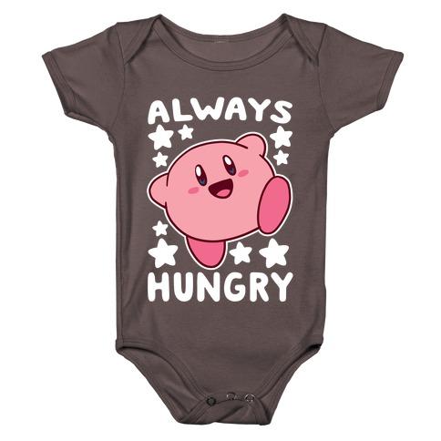 Always Hungry - Kirby Baby One-Piece