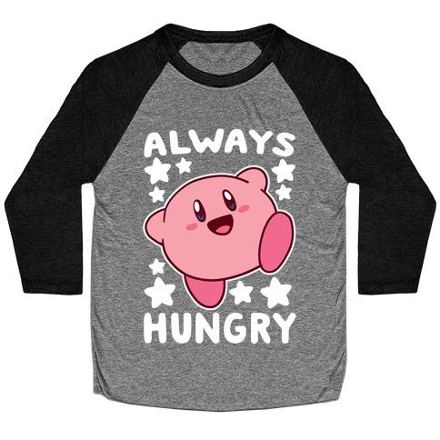 Always Hungry - Kirby Baseball Tee