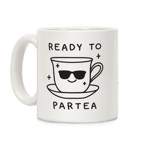 Ready To Partea Coffee Mug