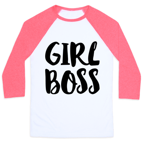 Girl Boss Baseball Tee