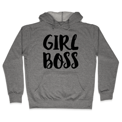 Girl Boss Hooded Sweatshirt
