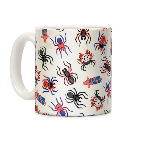 Into the Spiderverse Pattern Coffee Mug