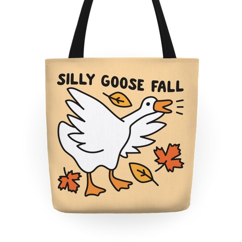 Silly Goose Fall Tote