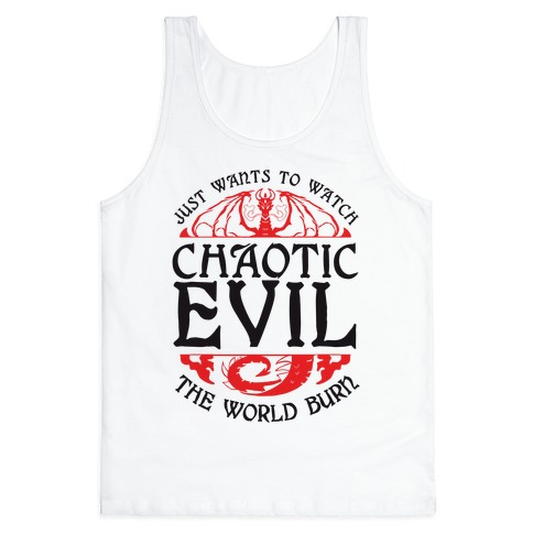 Chaotic Evil Tank Top