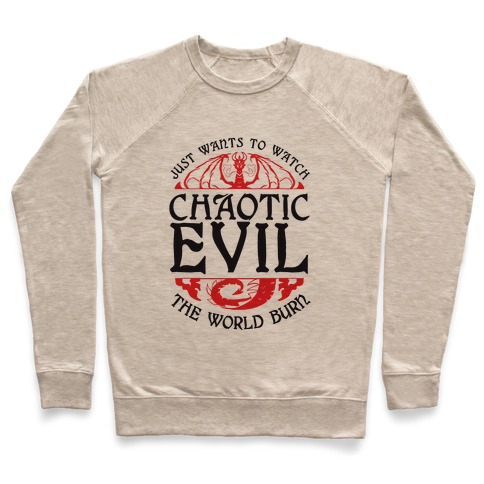 Chaotic Evil Pullover