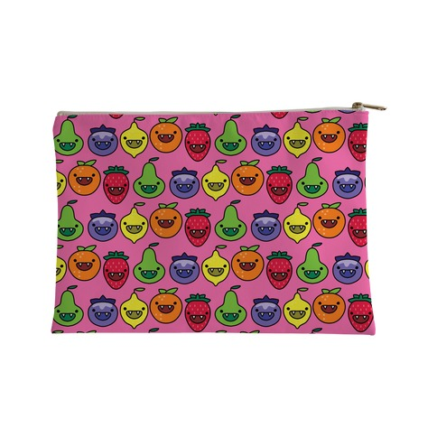 Scary Berries Pattern Accessory Bag