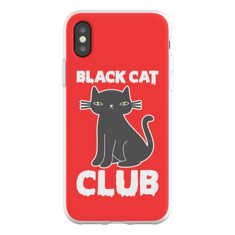 Black Cat Club Phone Flexi-Case