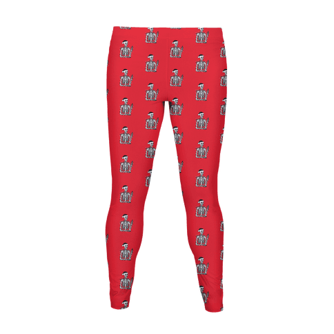 Christmas Skeleton Pattern Women's Legging