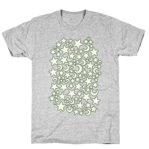 Ceiling Stars Pattern T-Shirt