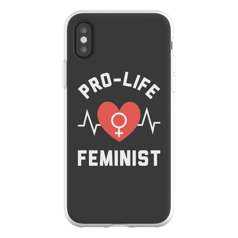 Pro-Life Feminist Phone Flexi-Case