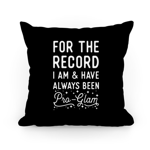 Pro-Glam Pillow